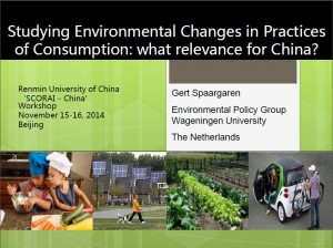 Studying Env Changes and Practices